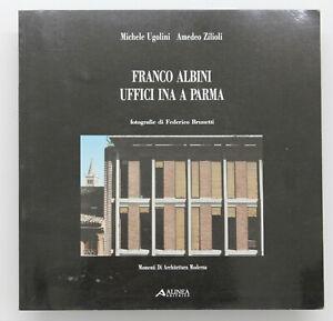 Rare-Franco-ALBINI-Italian-Architecture-Book-50s-Mid-Century-Modern-Design-Era