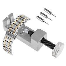 Metal Watch Band Bracelet Link Remover Spring Bar 4 Pins Repair Tool Kit