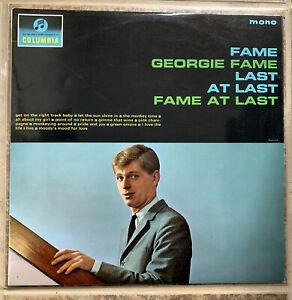 Georgie Fame ~ Fame At Last ~ Columbia 33SX 1638 ~ 1964 UK Vinyl Mono LP