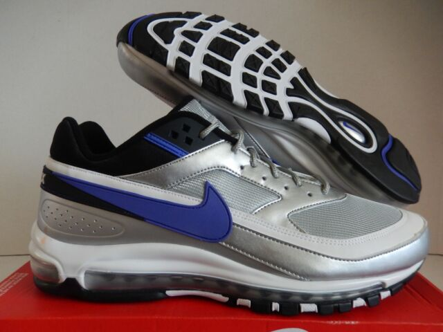 Men's Nike Air Max 97bw Metallic Silver Persian Violet Size 13 Ao2406 002 #