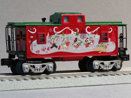 LIONEL DISNEY CHRISTMAS HOLIDAY CABOOSE O GAUGE 83964 mickey land 6-82716-C NEW