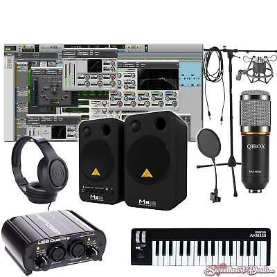 home recording bundle studio package midi 32 behringer art software ebay. Black Bedroom Furniture Sets. Home Design Ideas