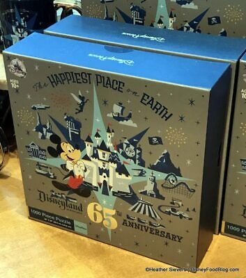 Disneyland 65th Anniversary Puzzle Sixty Years Of Magic Exclusive Brand New