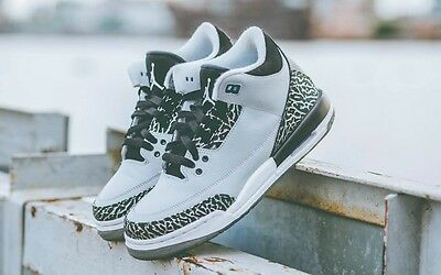 Air Jordan 3 III Retro Wolf Grey (GS) Kids 398614-004 6 vi 4 iv 11 concord blue