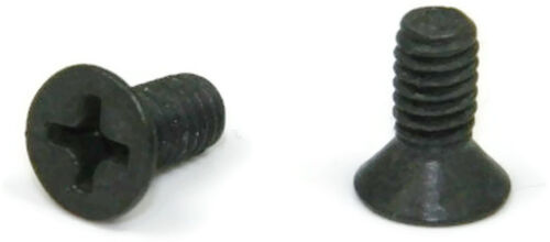 Black Oxide Stainless Phillips Flat Head Machine Screw  4-40 x 1//2 Qty 250