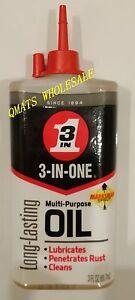 1 Bottle Multi Purpose Motor Oil 3 In 1 Lubricates