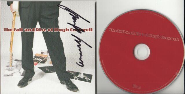 HUGH CORNWELL The Fall And Rise Of... UK SIGNED / AUTOGRAPHED CD album + CoA