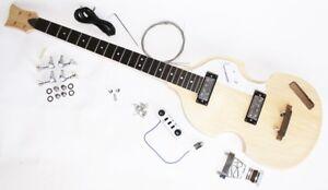 RéAliste Kit Violinbass Beatlesbass E-bass-afficher Le Titre D'origine