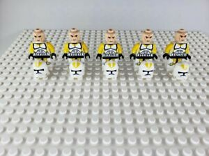 Star-Wars-Yellow-Clone-Troopers-Minifigures-Army-Lot-of-5-Not-made-by-Lego