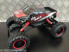 RC Crawler / Rock Crawler Pick-Up red- black / Allrad 4WD / 2,4 Ghz / M 1:14