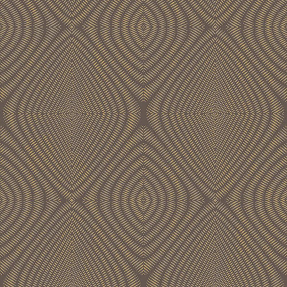 TP21281 - Passenger Kaleidoscopic Tiles Brown Beige Galerie Wallpaper