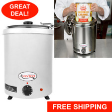 Avantco 6 Qt Stainless Steel Soup Kettle Warmer Commercial Nacho Cheese 10 Can
