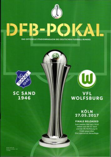 VfL Wolfsburg in Köln DFB-Pokalfinale 27.05.2017 SC Sand 1946