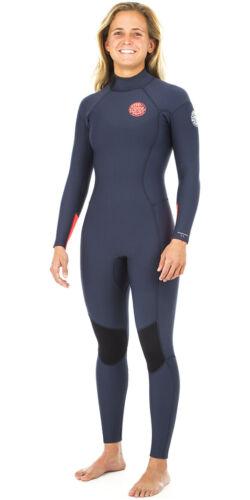 Rip Curl Womens Dawn Patrol 5//3mm GBS Back Zip Wetsuit NAVY Lightweight Seam