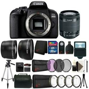 Canon-EOS-800D-T7i-24-2MP-DSLR-Camera-with-18-55mm-Lens-All-You-Need-32GB-Kit