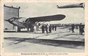 CPA-13-MARIGNANE-AVIATION-L-039-ARRIVEE-DU-COURRIER-DE-PARIS-cliche-pas-courant