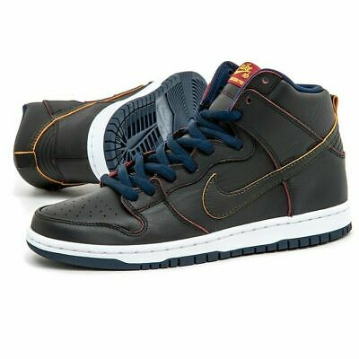NIKE SB DUNK High Pro NBA Cleveland Cavs Black Navy Shoes