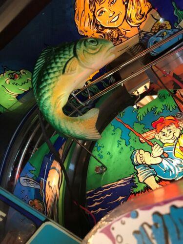 Fish Tales FT Pinball Machine GREEN JUMPING FISH LED Mod Williams