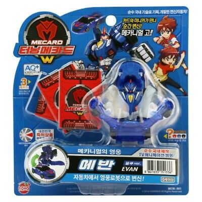 Turning Mecard W PHOENIX Black Transforming Robot Kids Toy With Free Gifts