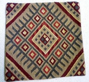 Pottery Barn Wool Kilim Zippered Pillow Cover 18 Quot X 18