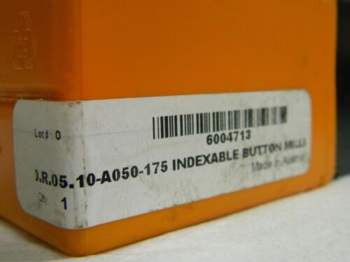 "Hertel Indexable Copy Face Mill Coolant Through 1.5/"" Cutting Dia HMC502R 6004713"