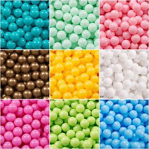 Kiddymoon L'ensemble De Balles Plastique ∅7cm Pour Piscine Enfant, Uni 50-700