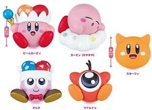 Kirby Yura Yura Mascot Part 4 Set of All 5 Mascots