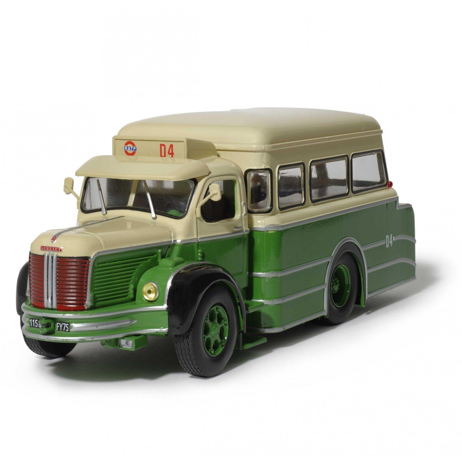 Dépanneuse Berliet RATP  1 43 Neuf en boite Autobus miniature