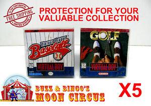 5x-NINTENDO-VIRTUAL-BOY-CIB-GAME-BOX-PROTECTIVE-BOX-PROTECTOR-SLEEVE-CASE