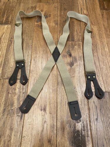 Filson Tab Suspenders - Excellent Condition - Vint