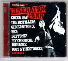 (GQ262) Generation Punk, 14 tracks various artists - 2005 - NME CD