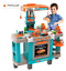 thumbnail 1 - Children's Play Kitchen Set And Accessories With Sounds And Lights, Pots And Pan