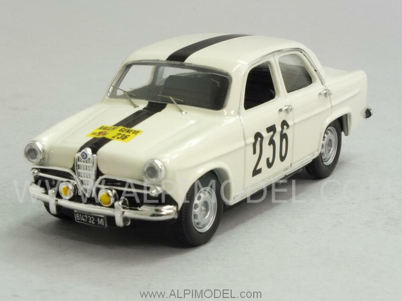 Alfa Romeo Giulietta TI Rally Geneve 1963  Cavallari 1 43 RIO 4413  liquidation de la boutique