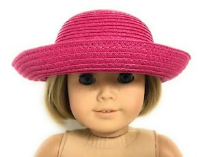 Dark-Pink-Hat-Accessories-fits-18-inch-American-Girl-Doll-Clothes