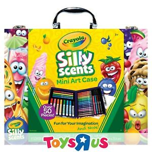 Crayola Silly Scents 52-Piece Mini Art Case
