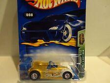 2003 Hot Wheels Treasure Hunt #8 Gold Riley & Scott MK III w/Real Riders