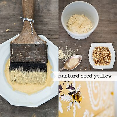 Miss Mustard Seed's Milk Paint - Buttery Yellow - Sample Size furniture painting