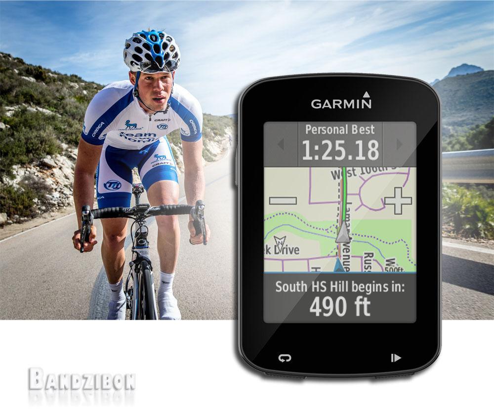 Garmin Edge 820 GPS écran Tactile Navigation Vélo Support Guidon Vélo Cycle