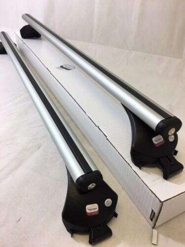 Complete Roof Rack Bars Aero 130cm Ford Edge 2014-2018 for flush rails