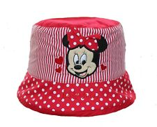 Disney Minnie Mouse Baby Girl Toddler Beach Holiday Summer Bucket Sun Hat 707b4f2cdf96
