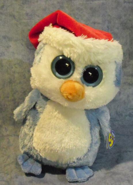 0bad10cc67b Ty Beanie Boos Fairbanks Penguin Santa Hat 10 for sale online