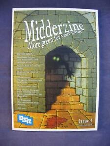 The Midderzine Issue #1 - OSR - 1st Print - The Midderlands