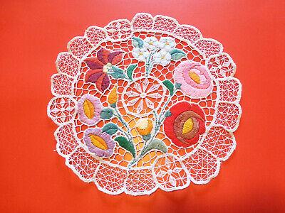 Hungarian Handmade Crocheted Doily
