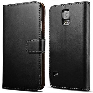 Fits-Samsung-Galaxy-S5-Neo-Or-S5-Mini-Phone-Genuine-Leather-Wallet-Case-Cover
