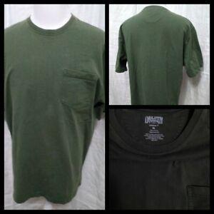 Duluth-T-Shirt-Men-039-s-XL-Green-Great-Shape-Short-Sleeve-Inv-Z2843