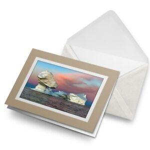 Greetings-Card-Biege-Greenland-Disko-Bay-Icebergs-21655