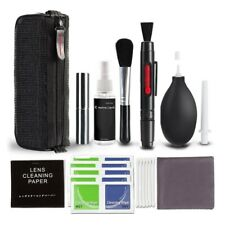 8 IN 1 PROFESSIONAL CLEANING CLEANER KIT FOR DSLR CAMERA //LENS //SENSOR //LCD A4D1