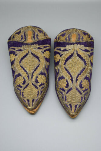 Oriental Handcrafted Embroidered Shoes,  Eastern/A