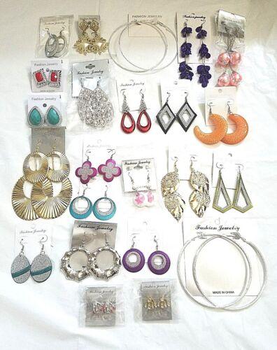 Vente en gros bijoux lot 20 paires de belle qualité Boucles d/'oreilles US Vendeur
