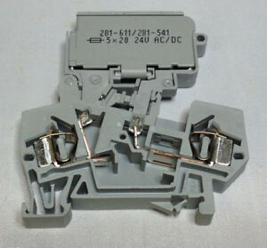 WAGO 281-611//281-541 Sicherungsklemme Neu 1 Stück aus OVP